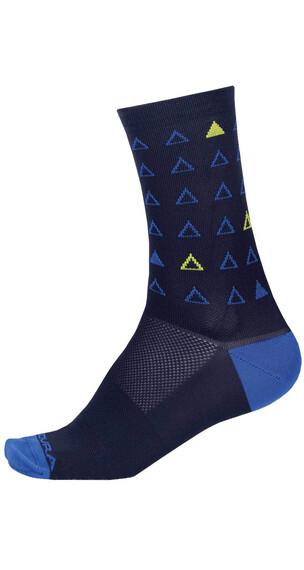 Endura Triangulate Socks Men blue